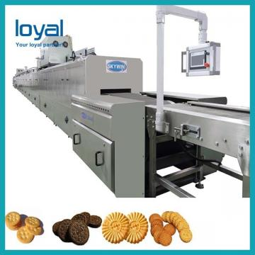 Auto Small Biscuit Making Machine Rotary Mould Biscuit Production Line