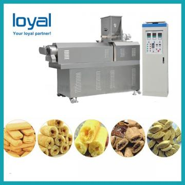 Energy saving corn puffed expanded snacks food making machine