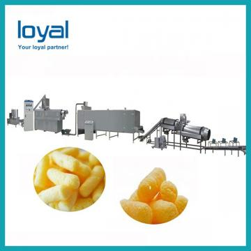 Inflated cereals snacks machines expand cereal corn flaks making machine