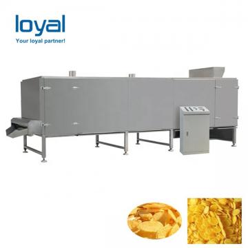 Small Scale Corn Flakes Production Line Breakfast Cereal Manufacturing Equipment