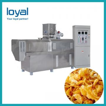 Full Automatic Breakfast Cereal Making Machine Corn Flakes Bulking Production Equipment