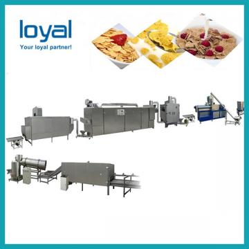 Automatic instant cereal baby food fruit froot loops rings snack food extrusion machinery production plant