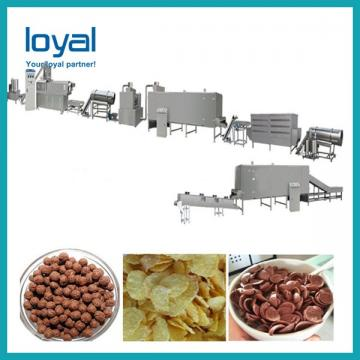 Snack Food Oats Corn Flakes Processing Line Machine