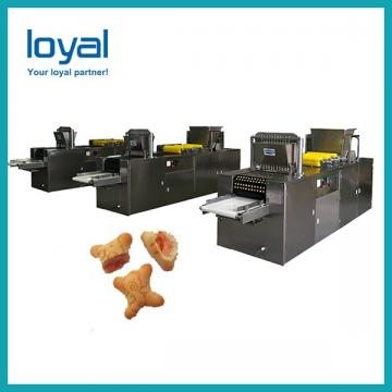 Automatic small scale biscuit machine soft waffle production line