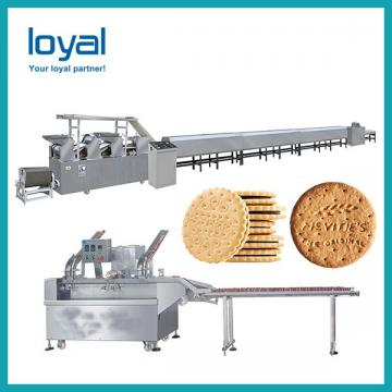 Sample Construction Biscuit Plant Machinery / Small Scale Biscuit Making Machine