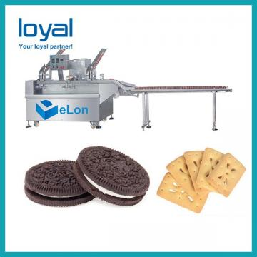 Automatic Small Scale Cream Biscuit Making Machine