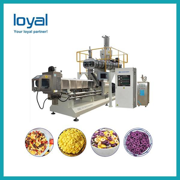 Automatic Nestle sugar coating corn flakes breakfast baby cereals making machine manufacturing equipment supplier #3 image